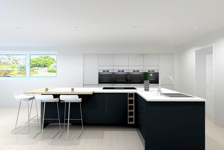 3D Kitchen Design Long Eaton